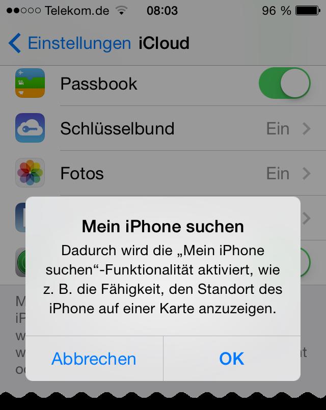 Mein Iphone Suchen Deaktivieren Ohne Handy