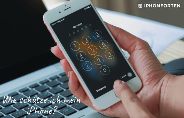 iphone schützen