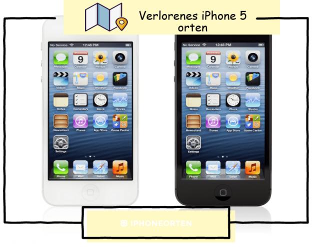 iPhone 5 orten