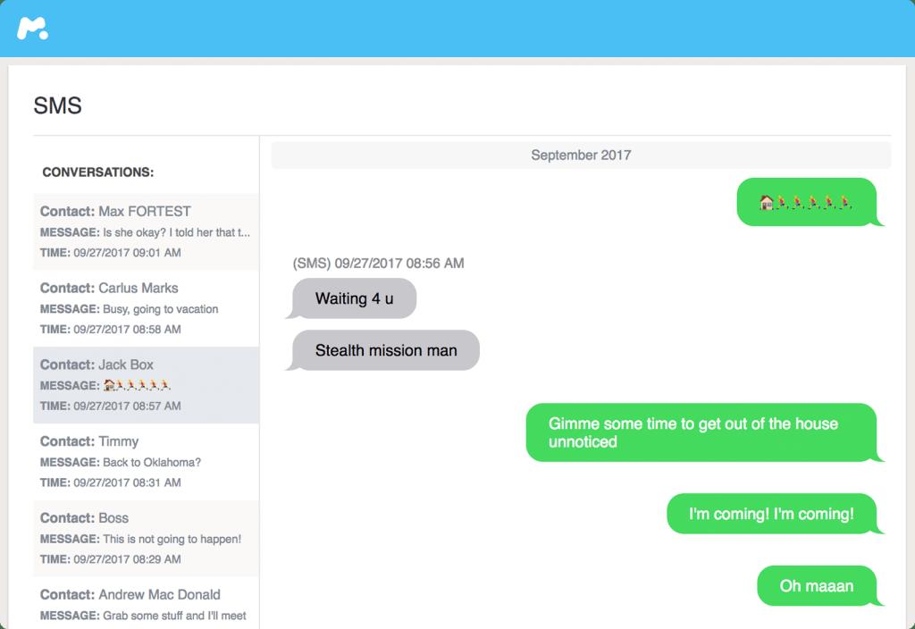 mspy SMS mitlesen