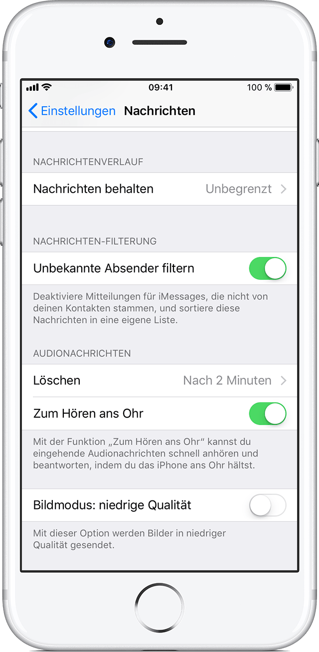 iPhone Nummer sperren