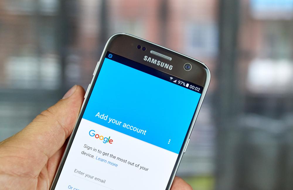 Kontakte mit einem Google-Konto übertragen